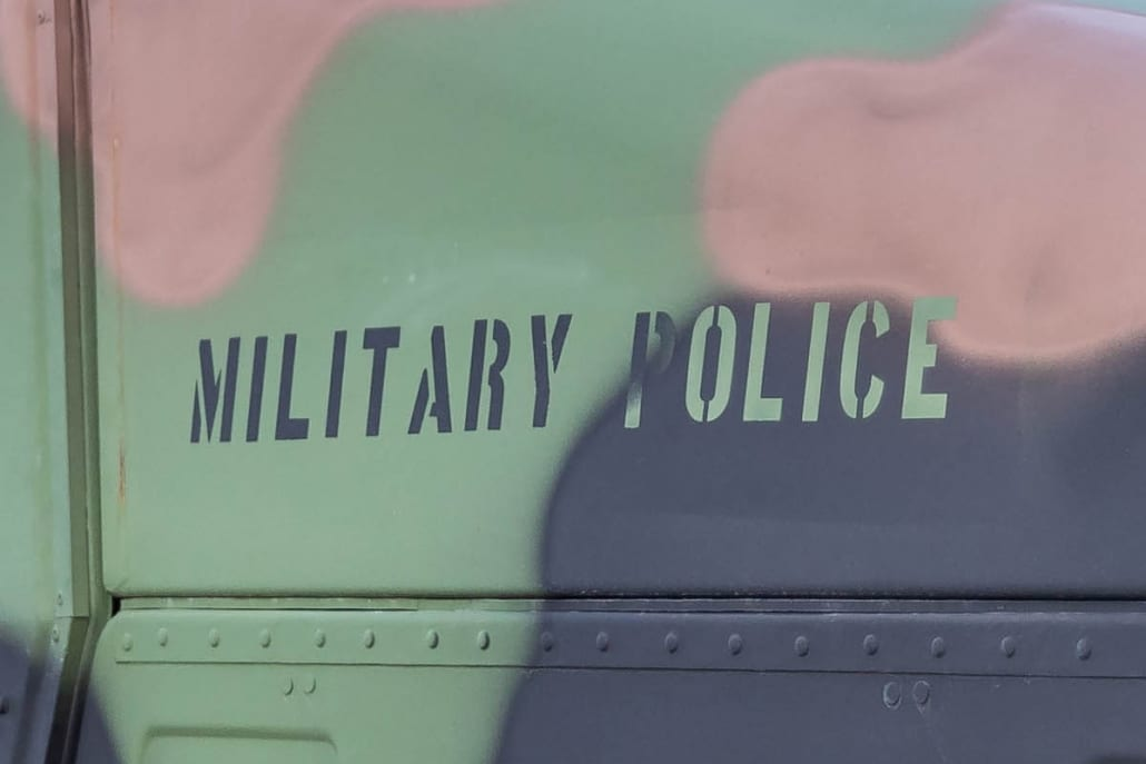 Born to grill truck - Military Police